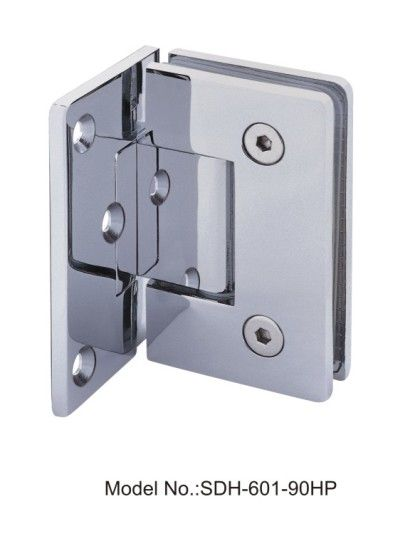90 Degree Pvd Shower Door Hinges Glass To Wall With Half Platesdh