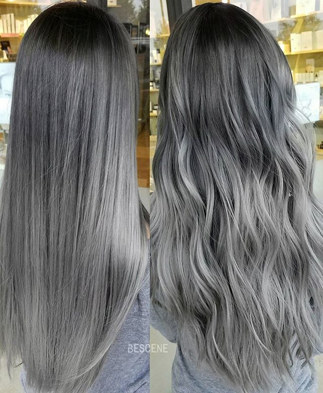 Dolphin Gray Straight Tousled I Posted A Video Of This A Few