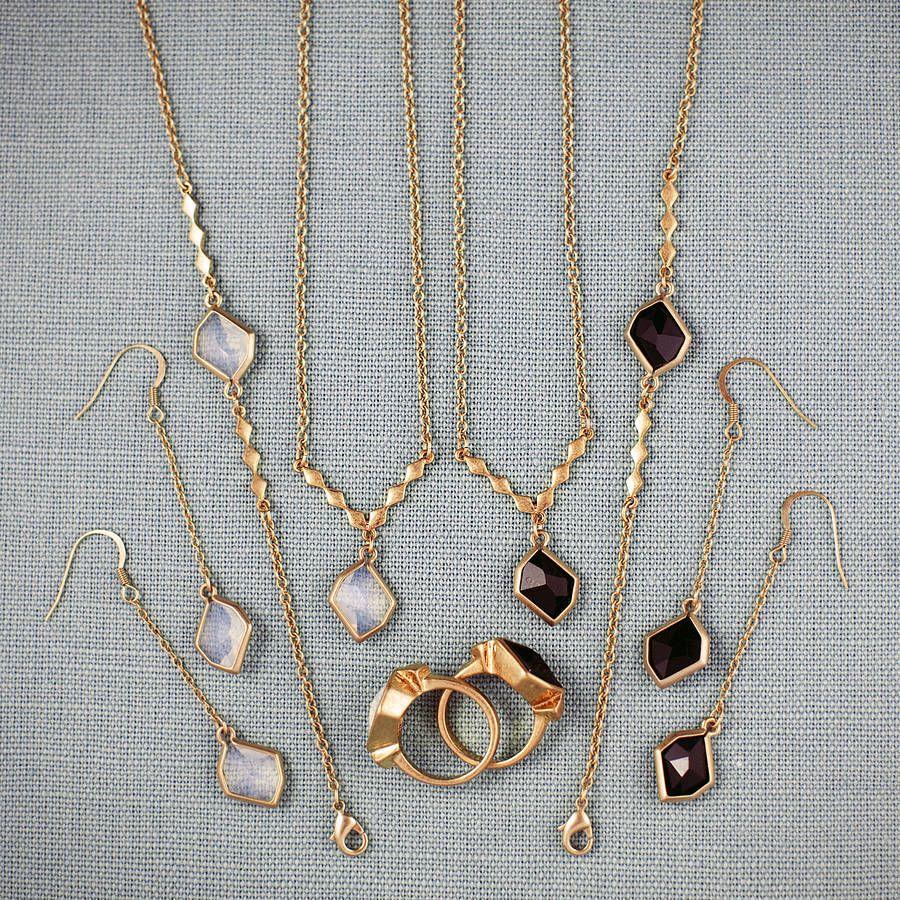 Jewellery Set Made With Swarovski Crystals