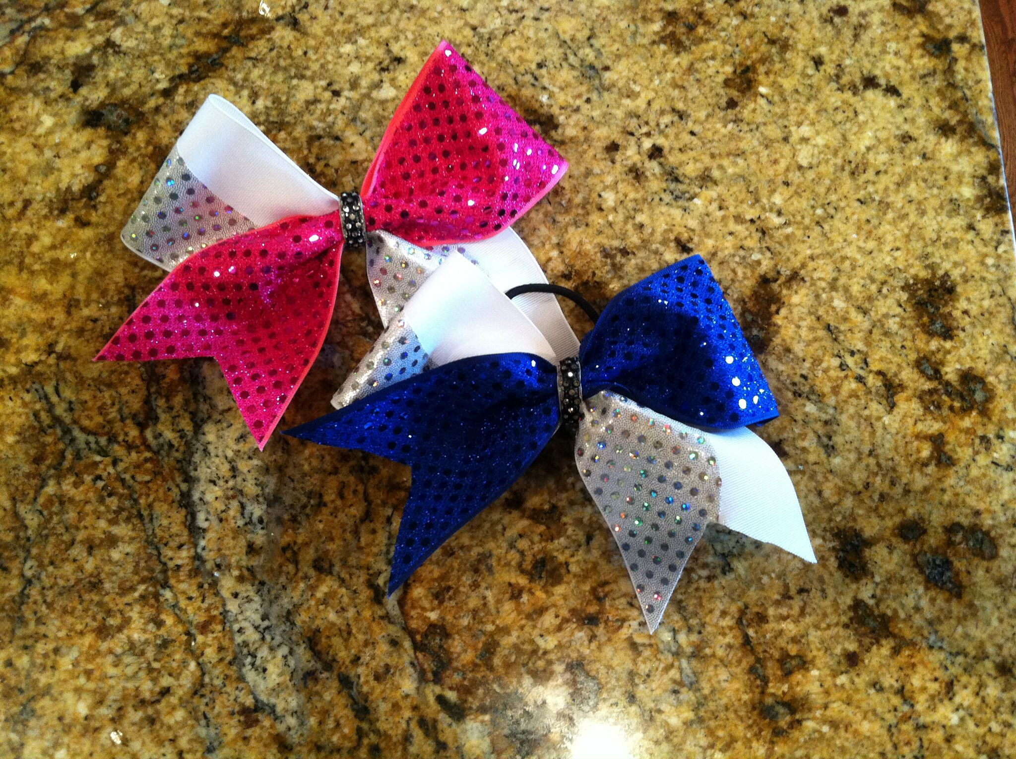 Savvy's Bowtique  Check out their Instagram and Etsy! This bow is $16