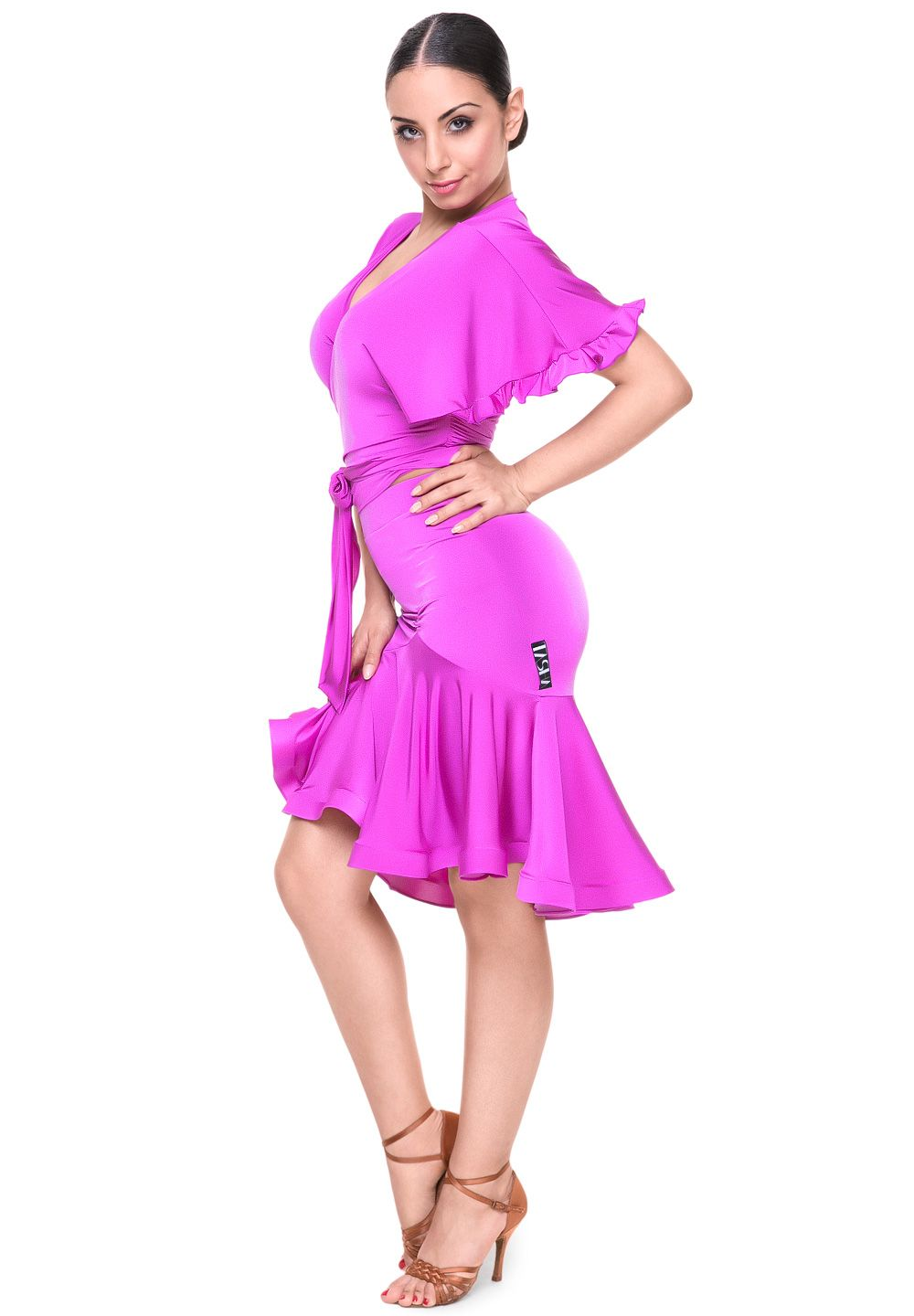 Tasha by Popcon Fit and Flare Latin Skirt TWLS003|Skirts | Vestidos ...