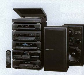 Digital Sound Processor - KENWOOD System 1991 | cuites in