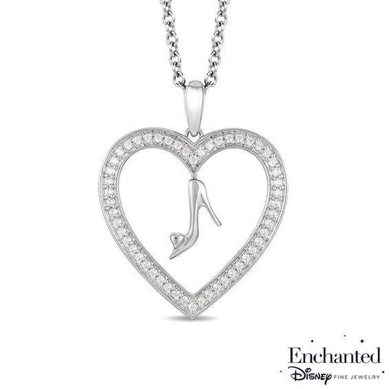 Zales 1/5 CT. T.w. Diamond Heart Pendant in Sterling Silver SP4BNvtC