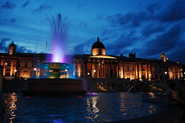 Trafalgar Square, London, England, GB