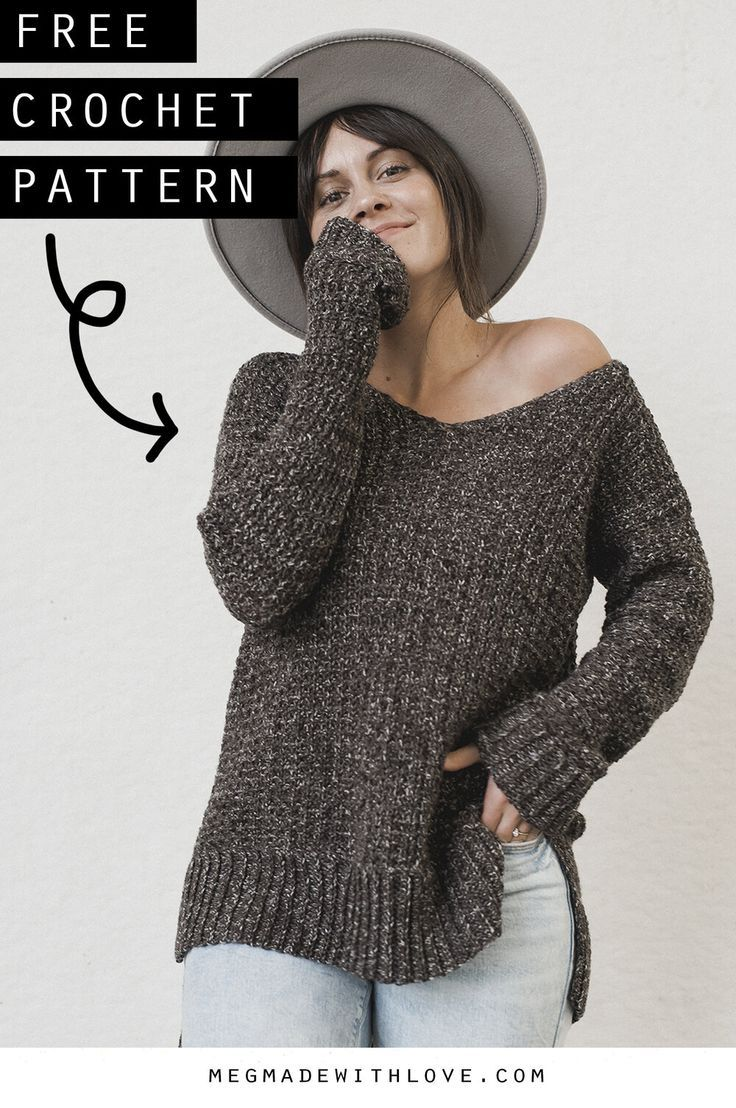 Photo of The Home Girl Sweater – Crochet Sweater Pattern — Megmade with Love