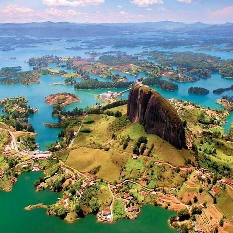 How Amazing Is This Laguna De Guatape Is A Popular Ecotourism