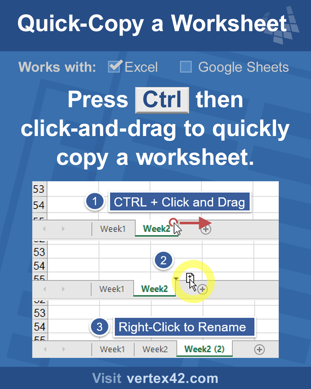 Excel Tip The Ctrl Key Lets You Do A Lot Of Cool Things