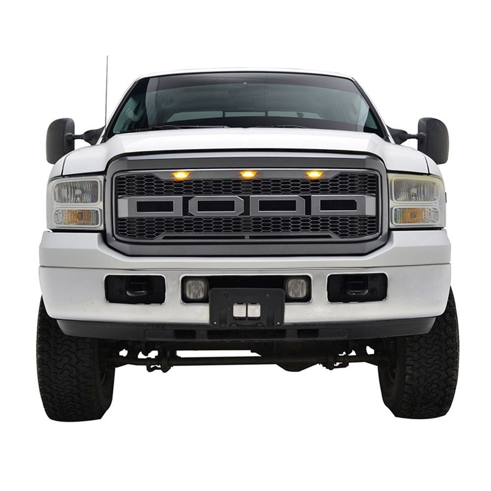 41 0162 ford f250 f350 raptor style packaged grille paramount automotive
