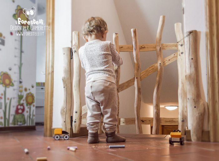 Cassapanca bambini ~ Fai da te cancelletto di legno per bambini. rendiamo sicure le