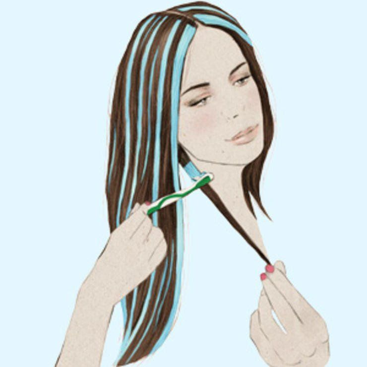How To Highlight Your Hair Beauty Pinterest Nail Nail