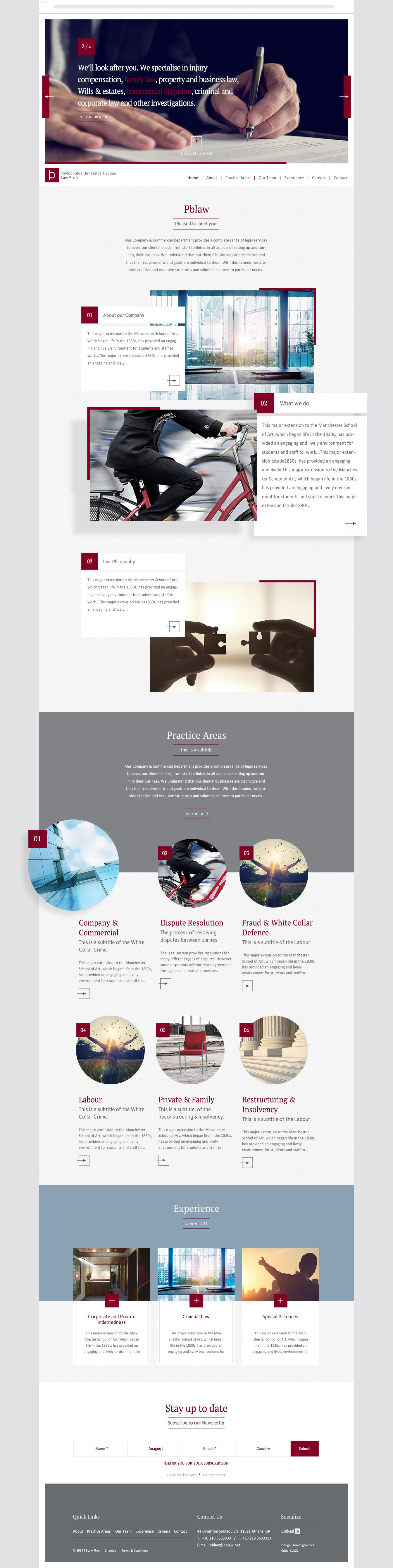 Kommigraphics Pavlopoulos Benetatos Pappas Law Firm With Images