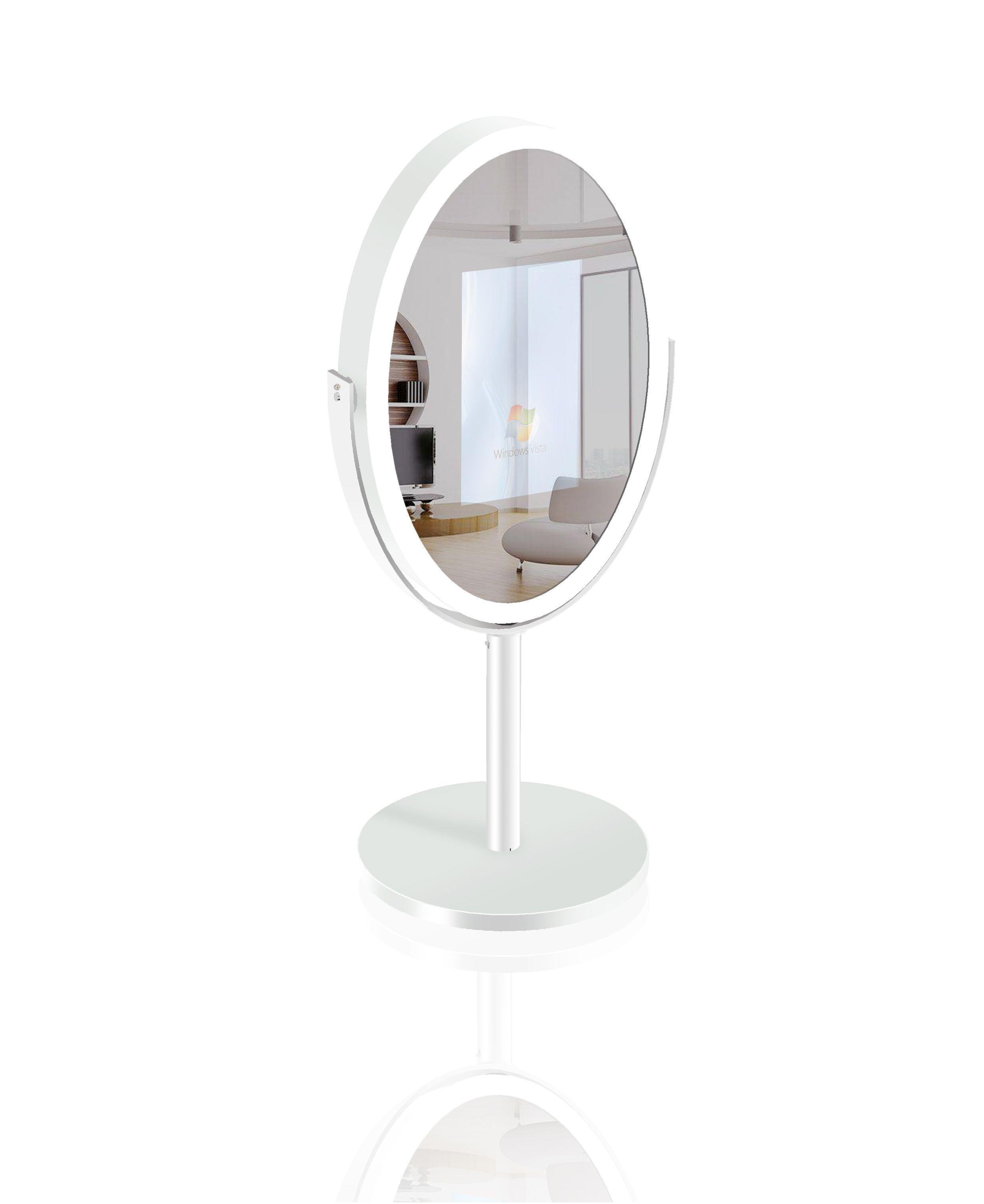 Oval Mirror Photo Booth mirrorphotoboothnyc