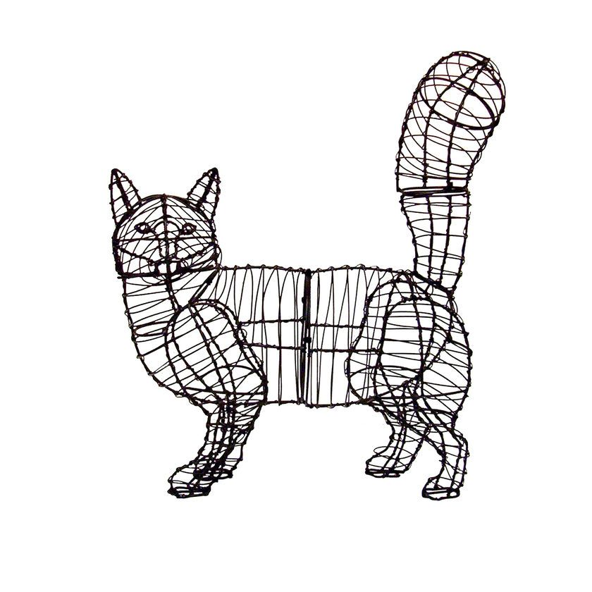 Cat Topiary Frame | Buy from Gardener\'s Supply | event sources ...