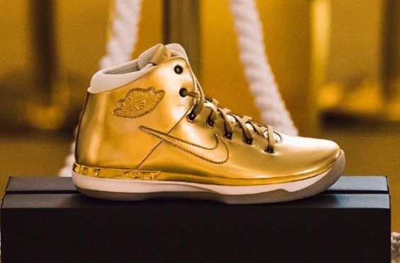 This Gold Air Jordan 31 Is Available In
