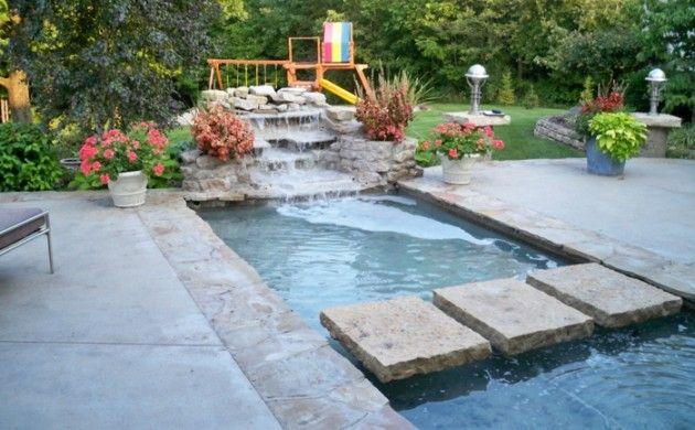 Garten Wasserfall Selber Bauen Tipps Exterieur