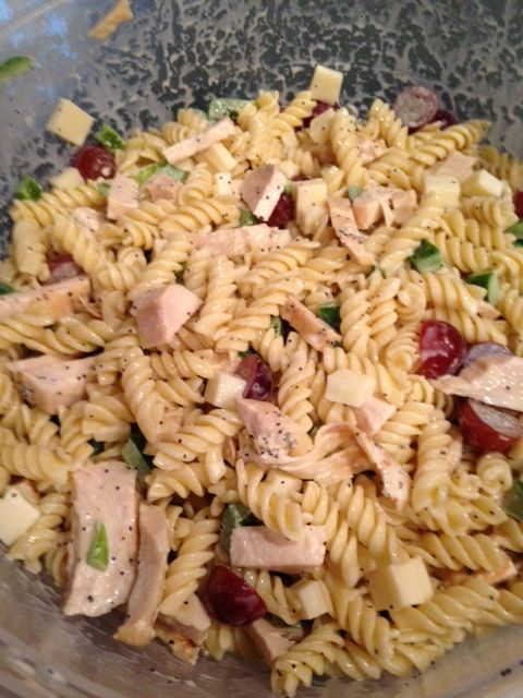 Festival Foods Copycat Poppyseed Chicken Salad 1 Box Pasta 2