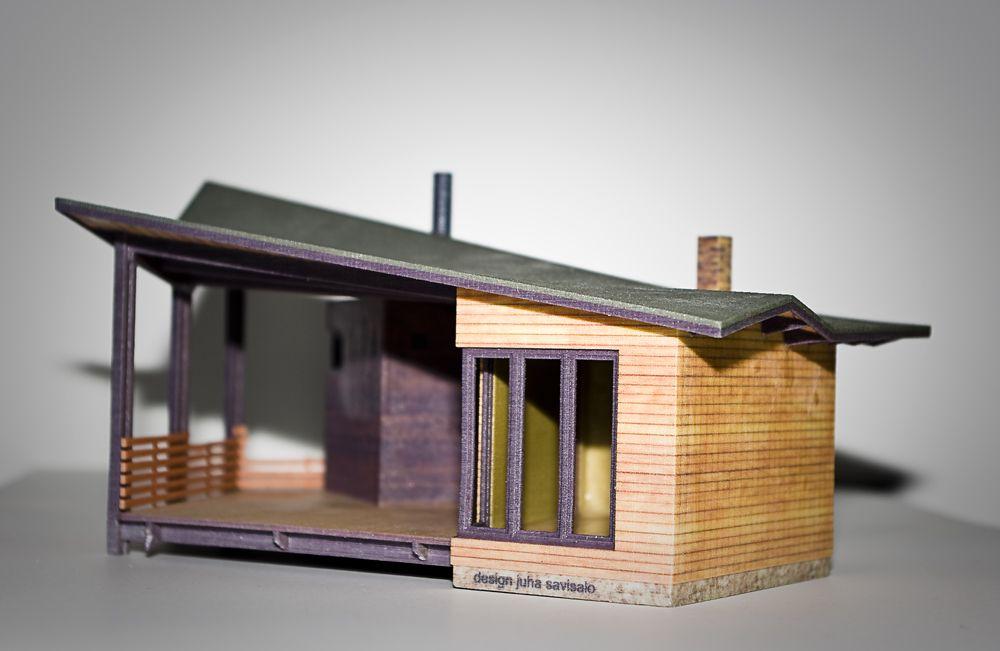 Maquette de maison - Photo copyright AMEXIS pour 3biggg