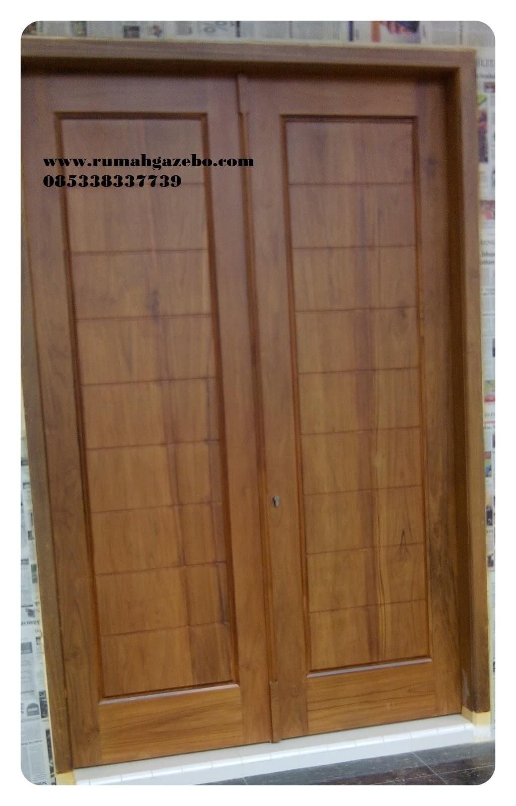 Model Pintu  Minimalis 2 Pintu  Kusen Pintu  Pinterest
