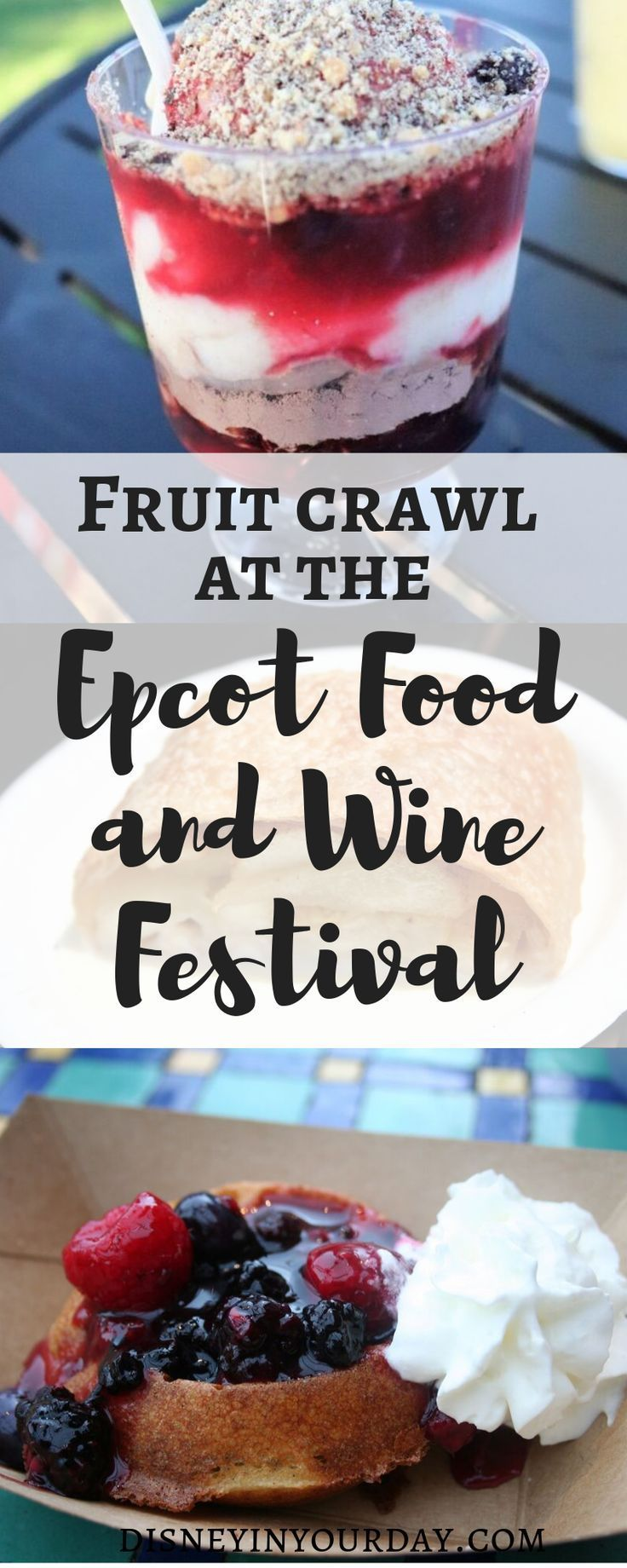 Epcot Food and Wine Festival Obst Crawl  Disneyside