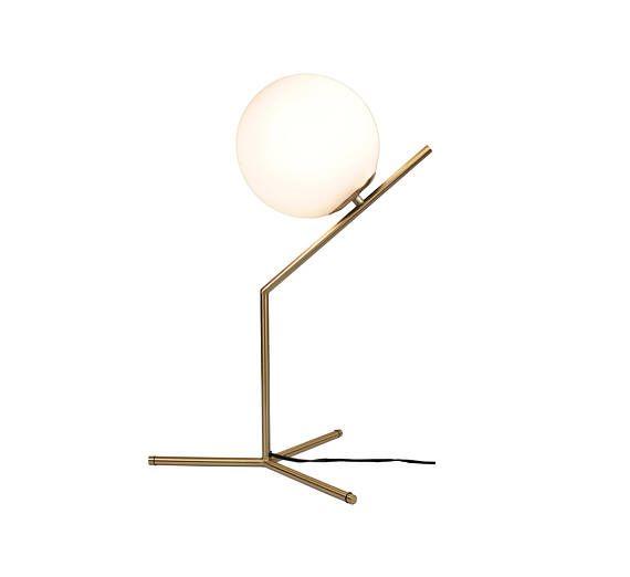 Eqlight mid century brass table lamp 2 0 brass modern table