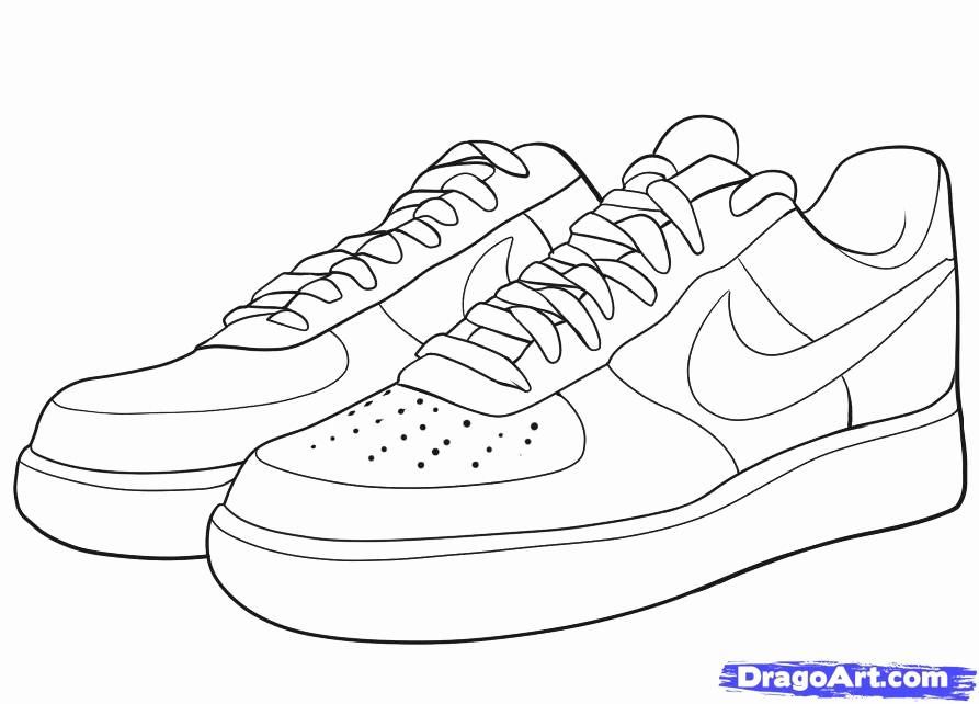 Jordan Shoe Coloring Book Luxury Jordan Shoe Coloring Pages Coloring Home In 2020 Sneakers Illustration Shoes Drawing Shoes Clipart