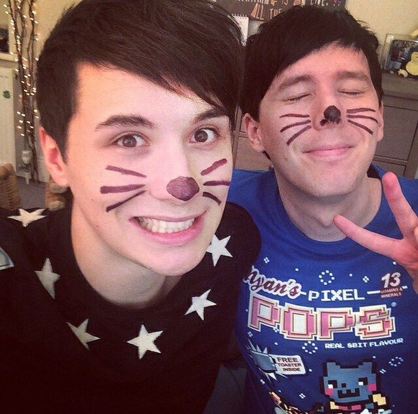 The cat whiskers come from within