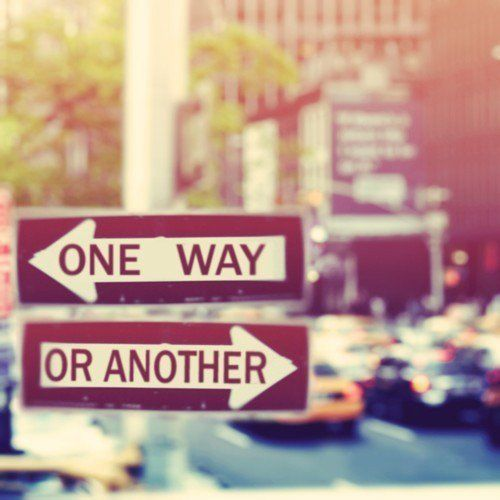One way or another!