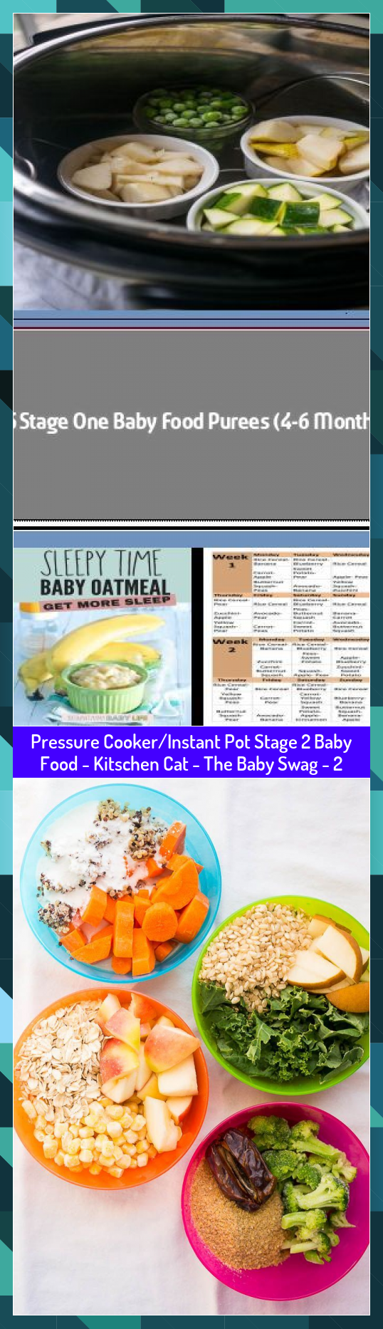 Pressure CookerInstant Pot Stage 2 Baby Food  Kitschen Cat  The Baby Swag  2