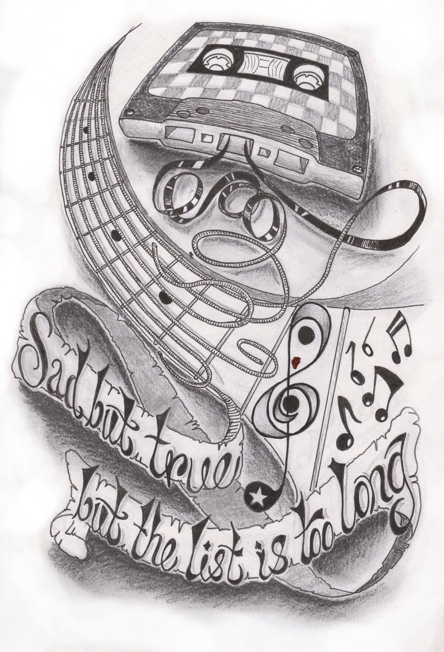 Music Half Sleeve By Dfletcher54734 On Deviantart Half Sleeve Tattoos Sketches Music Tattoo Sleeves Half Sleeve Tattoos Designs