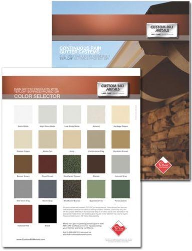 Custom-Bilt Gutter Color Choice | Color Selector in 2019