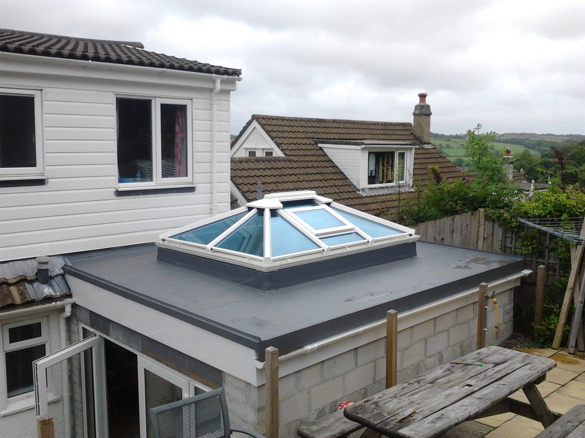 Single Ply Roofing Cornwall Pellow Flat Roofing Ltd Single Ply Roofing Flat Roof Roof Lantern
