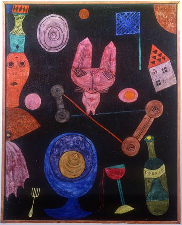 Paul Klee, Colorful Meal,1928 on ArtStack #paul-klee #art