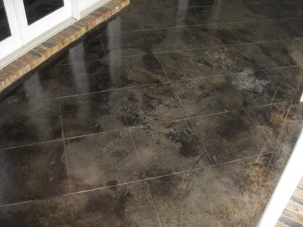 Painted concrete floor ideas mobile alabama cement for Painted concrete floor ideas