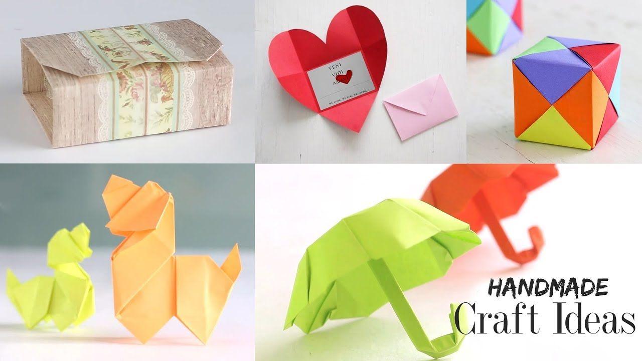 Handmade craft ideas paper craft tutorial do it yourself handmade craft ideas paper craft tutorial do it yourself solutioingenieria Choice Image