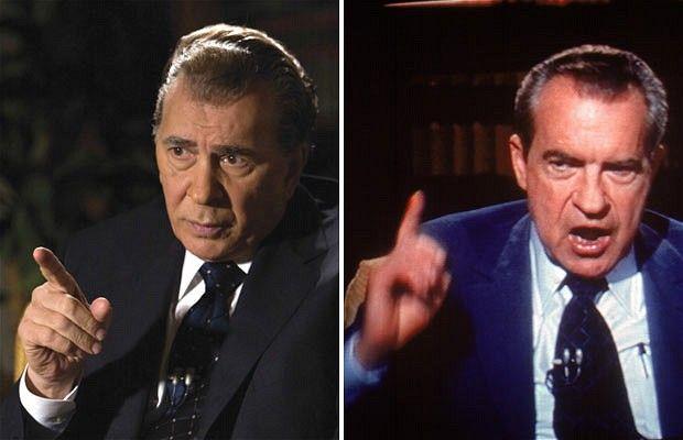 Frank Langella and the real Richard Nixon | Richard nixon ...