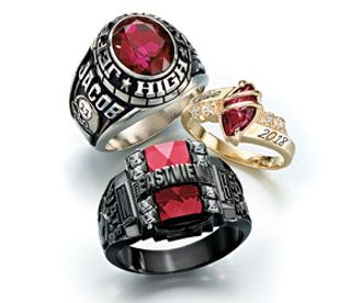 southeastern school balfour high rings class recognition from