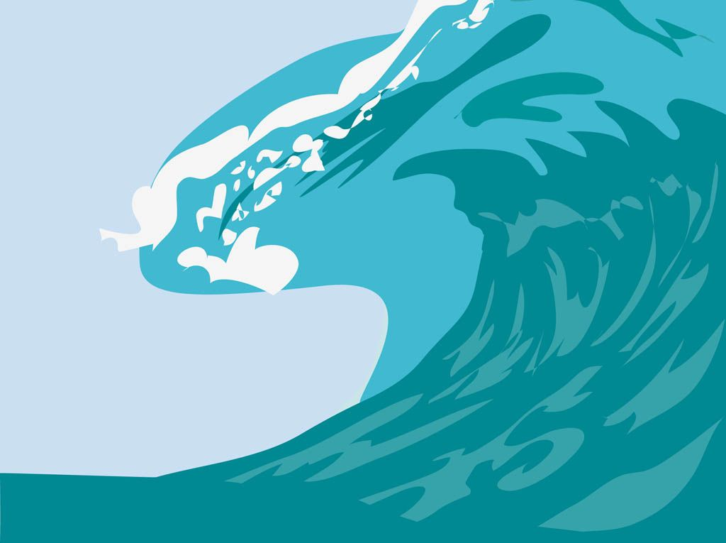 cartoon waves google search helldrivers pinterest surfing clipart free surfing clipart gifs