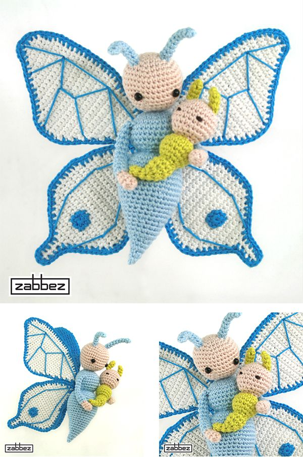 Butterfly Bree pattern by Bas den Braver | Pinterest | Mariposas ...
