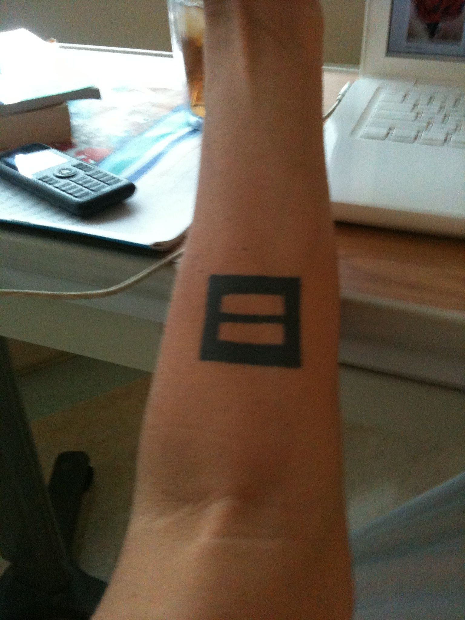 My Equal Rights Tattoo Equality Tattoos Tattoos Tattoos With Meaning