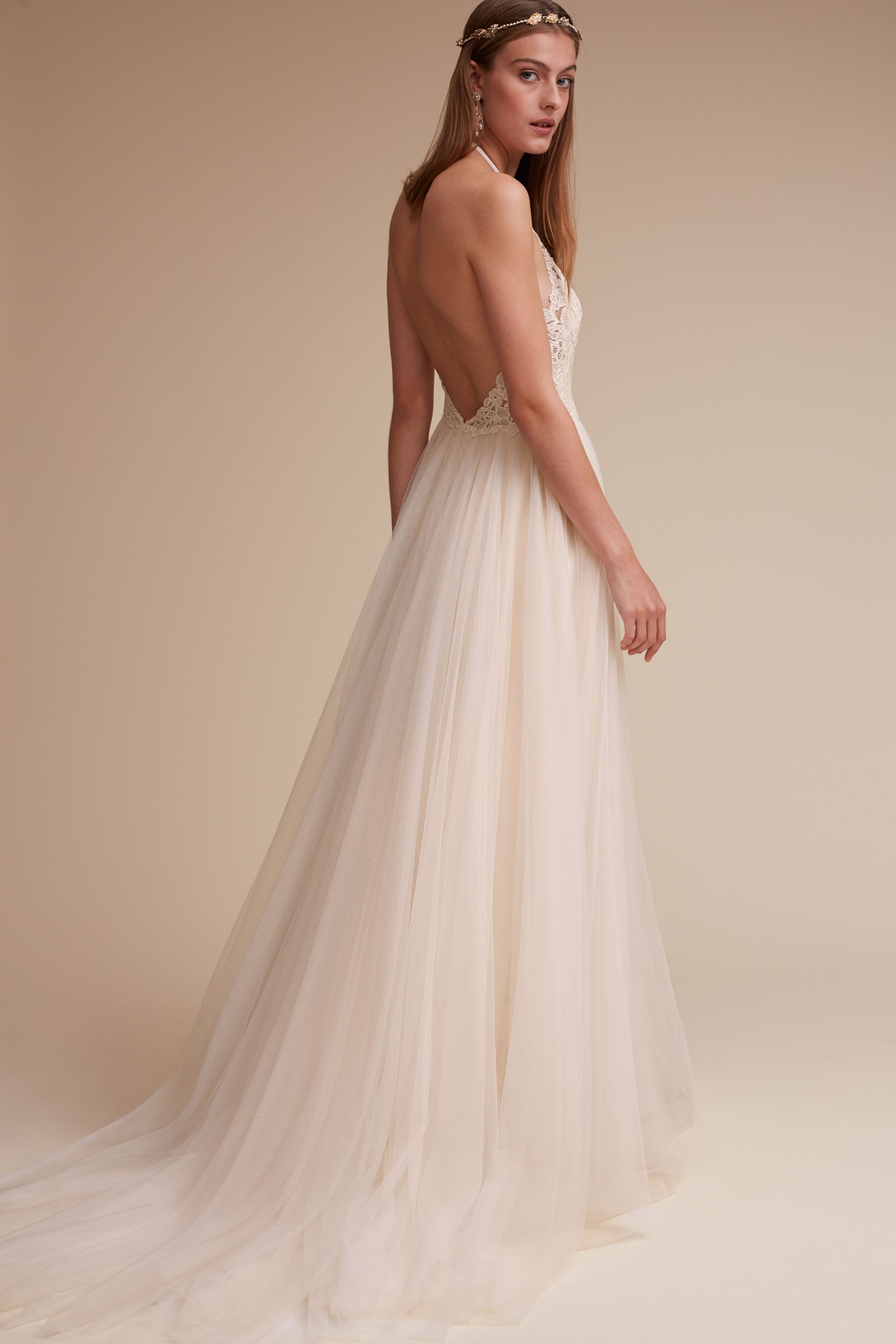Josie Gown From Bhldn It S The Perfect Halter Dress Make Sure