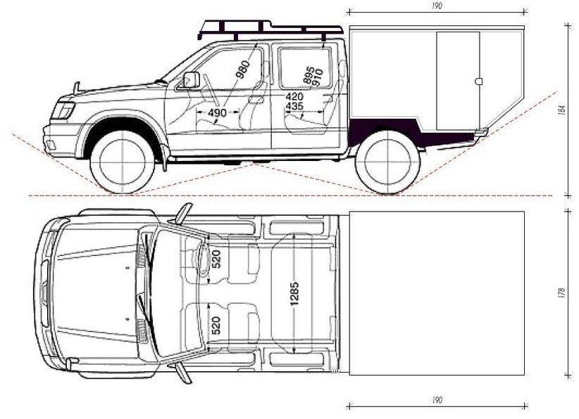 Teacher Builds DIY, Off Road, Tiny Nissan Truck Camper