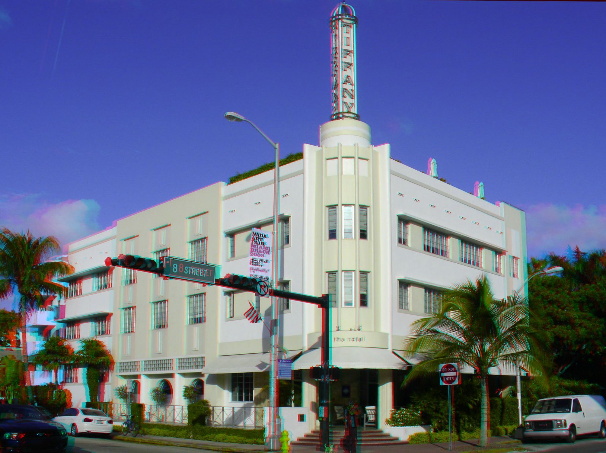 801 Collins Avenue The Hotel Originally Tiffany Built 1939 Architect L Murray Dixon Style Streamline Moderne Google Anaglyph