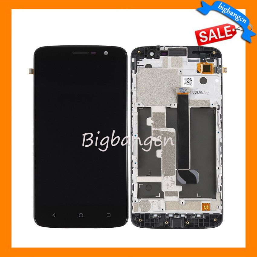 LCD Display Screen Touch DigitizerFrame For ZTE Blade Spark