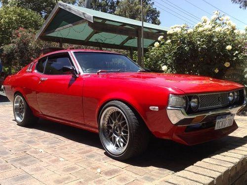 Oldskool Car Garage Classic 70s Toyota Celica Liftback Ta28 27