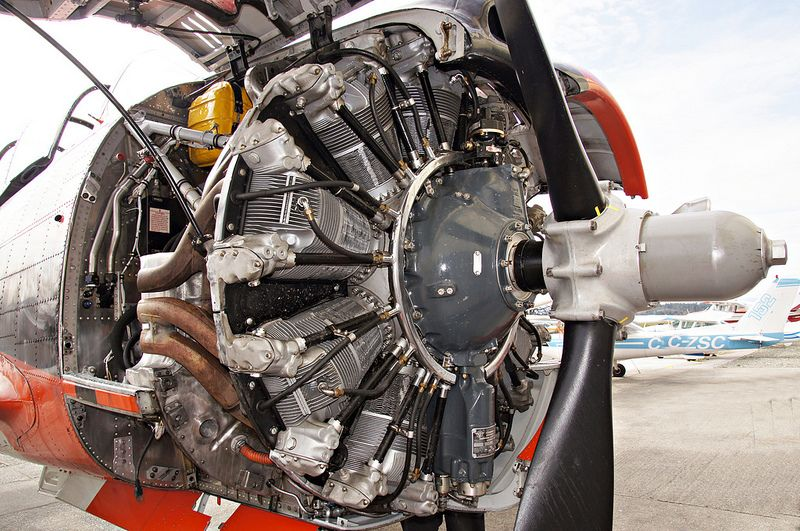 Wright R 1820 86 Cyclone Radial Engine Radial Engine Engineering Aircraft Engine