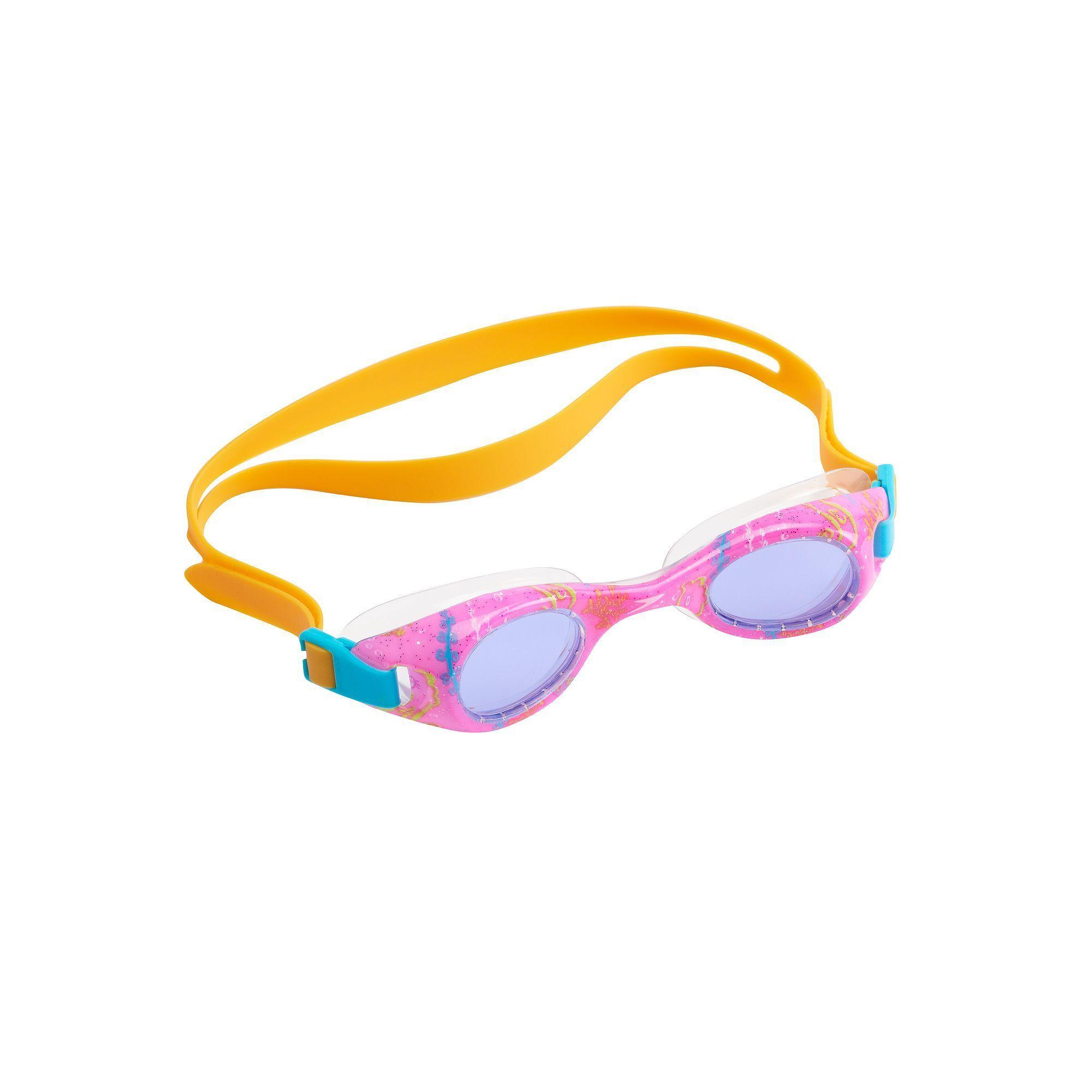 kids speedo boomerang swim goggles brt pink products