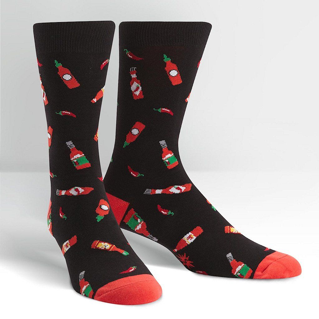 Hot Sauce Crew Socks Cats Like Us Cool socks for men