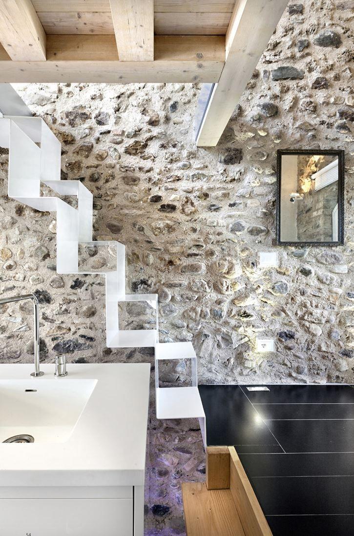 Il restauro di un edificio storico sul Lago di Garda