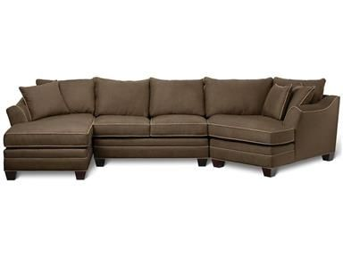 Shop For Hm Richards 3 Piece Sectional H9278cx And Other Living Room Sectionals At Wg R