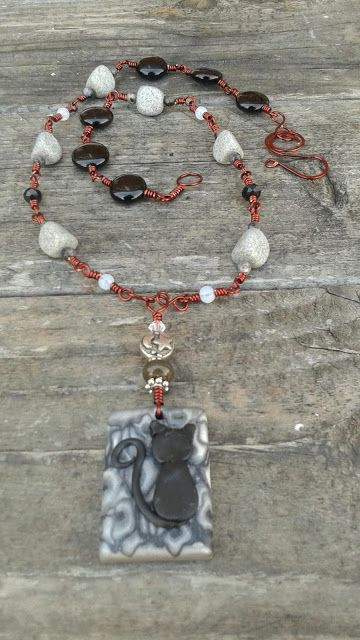 Black Cat Necklace | The Beadwenches Blogs | Superstition